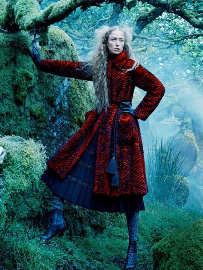 VOGUE MAGAZINE Raquel Zimmermann by Mikael Jansson. Tabitha Simmons, September 2015, www.imageamplified.com, Image amplified (10)