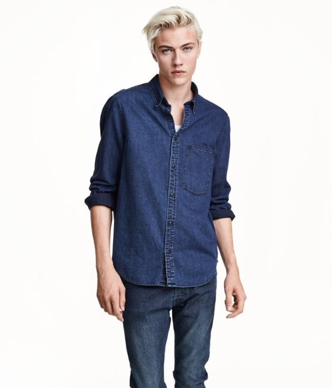 LOOKBOOK Lucky Blue Smith for H&M Fall 2015. www.imageamplified.com, Image amplified (5)