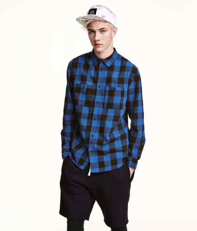 LOOKBOOK Lucky Blue Smith for H&M Fall 2015. www.imageamplified.com, Image amplified (9)