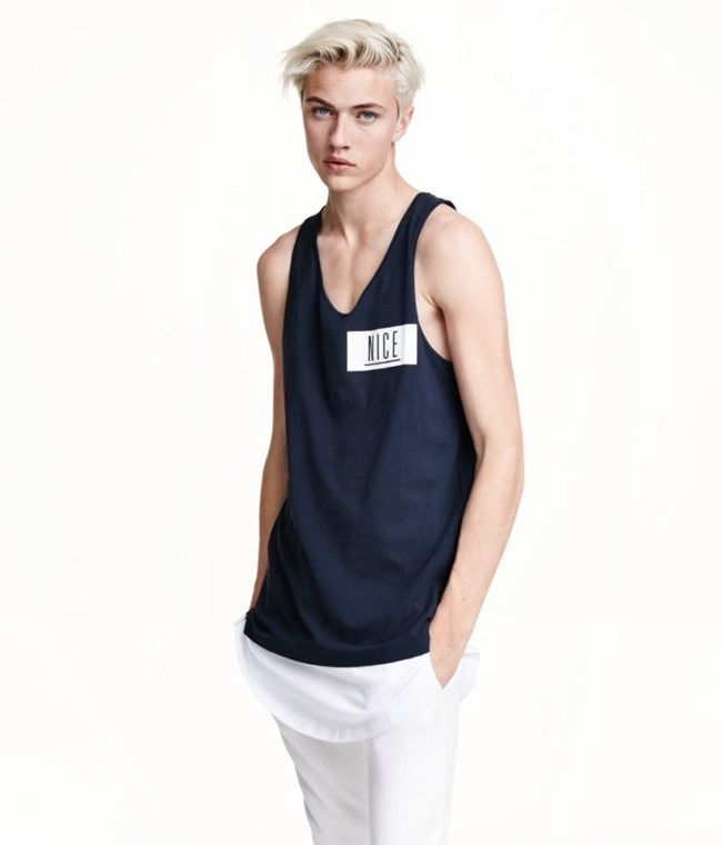 LOOKBOOK Lucky Blue Smith for H&M Fall 2015. www.imageamplified.com, Image amplified (26)