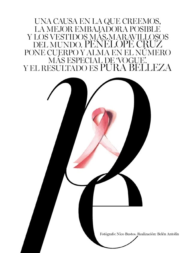 VOGUE SPAIN Penelope Cruz by Nico Bustos. Belen Antolin, September 2015, www.imageamplified.com, Image Amplified