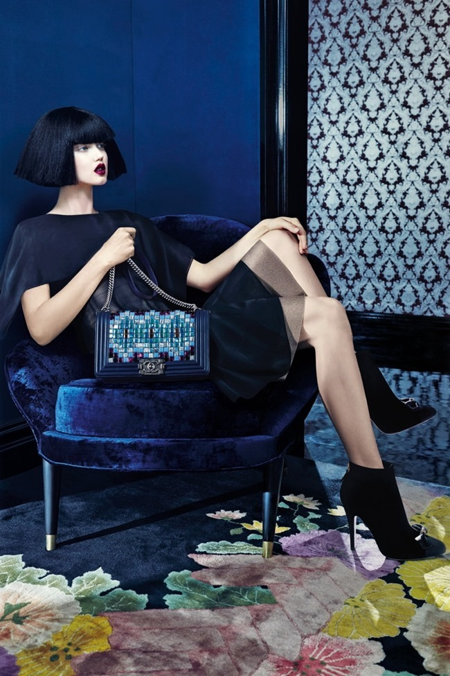 CAMPAIGN Lindsey Wixson & Binx Walto for Neiman Marcus Fall 2015 by Emma Summerton. www.imageamplified.com, Image Amplified (2)