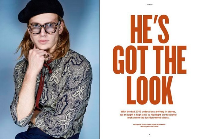 MANUSCRIPT MAGAZINE He's Got the Look by Jordan Graham. Jolyon Mason, Fall 2015, www.imageamplified.com, Image Amplified (1)