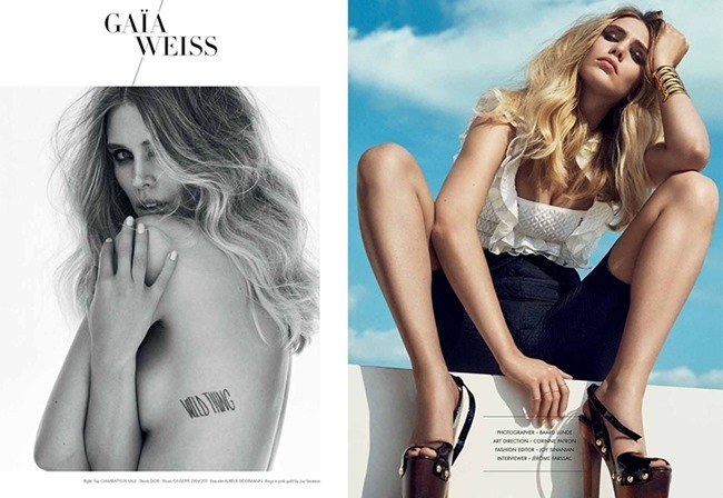 SO CHIC MAGAZINE Gaia Wess by Baard Lunde. Spring 2015, www.imageamplified.com, Image Amplified (5)