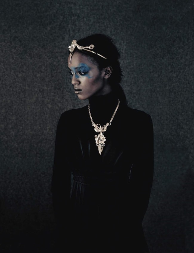 VOGUE ITALIA Leila Nda by Paolo Roversi. Panos Yiapanis, September 2015, www.imageamplified.com, Image amplified (6)