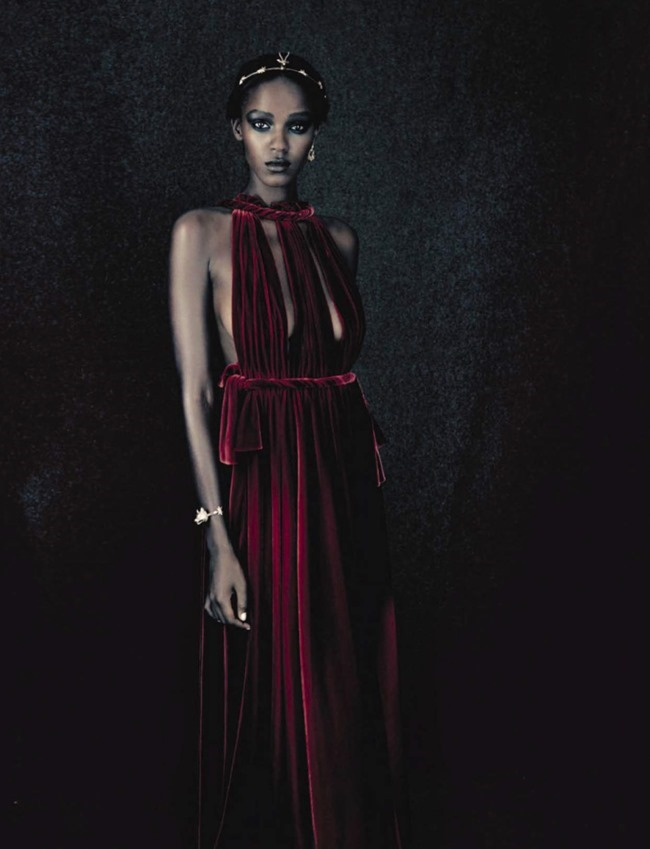 VOGUE ITALIA Leila Nda by Paolo Roversi. Panos Yiapanis, September 2015, www.imageamplified.com, Image amplified (7)