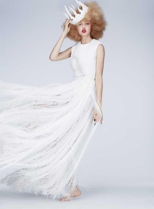 V MAGAZINE Lindsey Wixson by Anthony Maule. Brandon Maxwell, Fall 2015, www.imageamplified.com, Image Amplified (8)