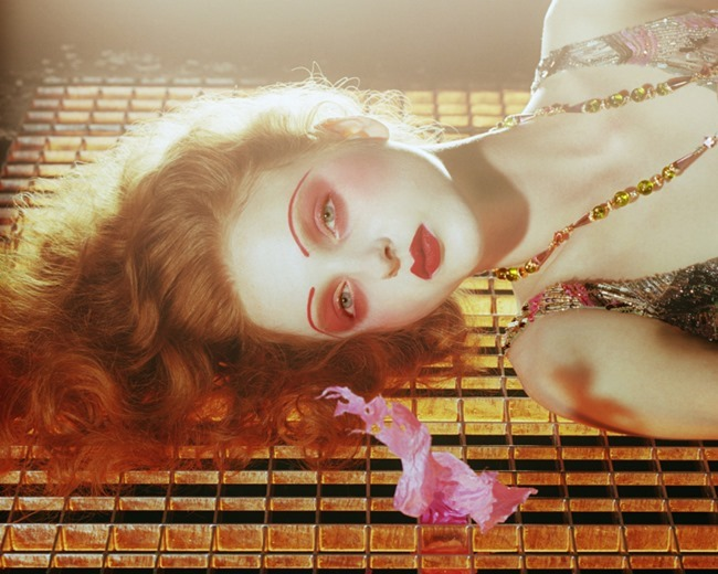 VOGUE ITALIA Madison Stubbington by Miles Aldridge. Karen Langley, September 2015, www.imageamplified.com, Image Amplified (3)