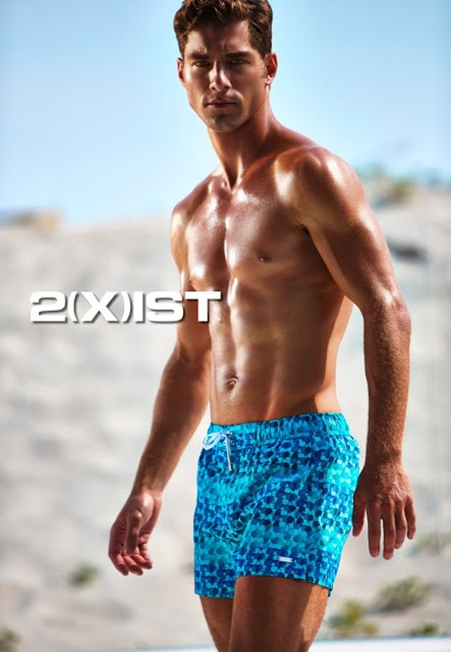 CAMPAIGN Andre Ziehe for 2(x)ist Swimwear 2015 by Mark Ledzian, www.imageamplified.com, Image Amplified (2)
