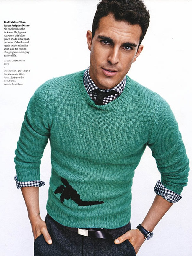 GQ MAGAZINE Clint Mauro by Tom Schirmacher. Kelly McCabe, Fall 2015, www.imageamplified.com, Image Amplified (3)