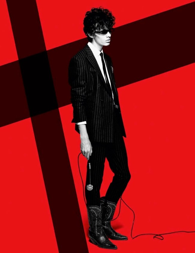 VOGUE HOMMES Cherchez le Garcon by Solve Sundsbo. Azza Yousif, Fall 2015, www.imageamplified.com, Image Amplified (5)