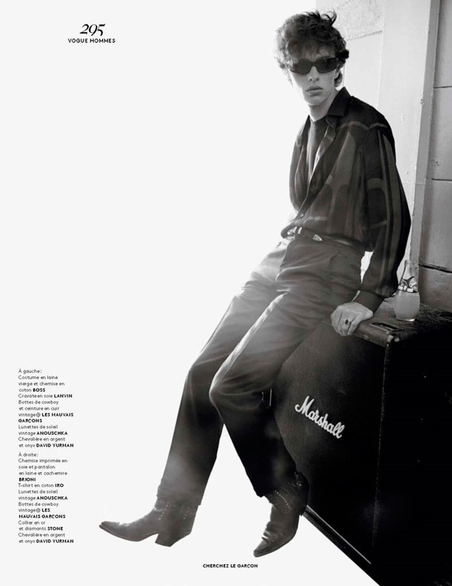 VOGUE HOMMES Cherchez le Garcon by Solve Sundsbo. Azza Yousif, Fall 2015, www.imageamplified.com, Image Amplified (6)
