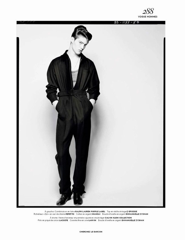 VOGUE HOMMES Cherchez le Garcon by Solve Sundsbo. Azza Yousif, Fall 2015, www.imageamplified.com, Image Amplified (8)