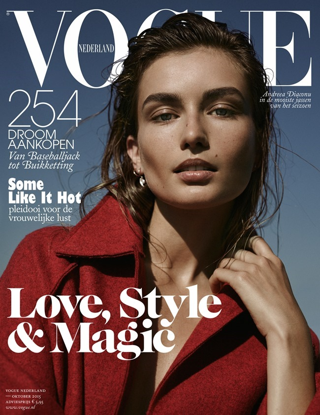 VOGUE NETHERLANDS Andreea Diaconu by Annemarieke van Drimmelen. Dimphy Den Otter, October 2015, www.imageamplified.com, Image Amplified (2)