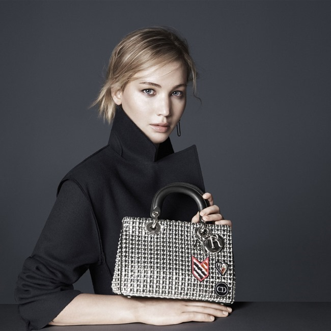 CAMPAIGN Jennifer Lawrence for Dior Accessories Fall 2015 by David Sims. www.imageamplified.com, Image Amplified (1)