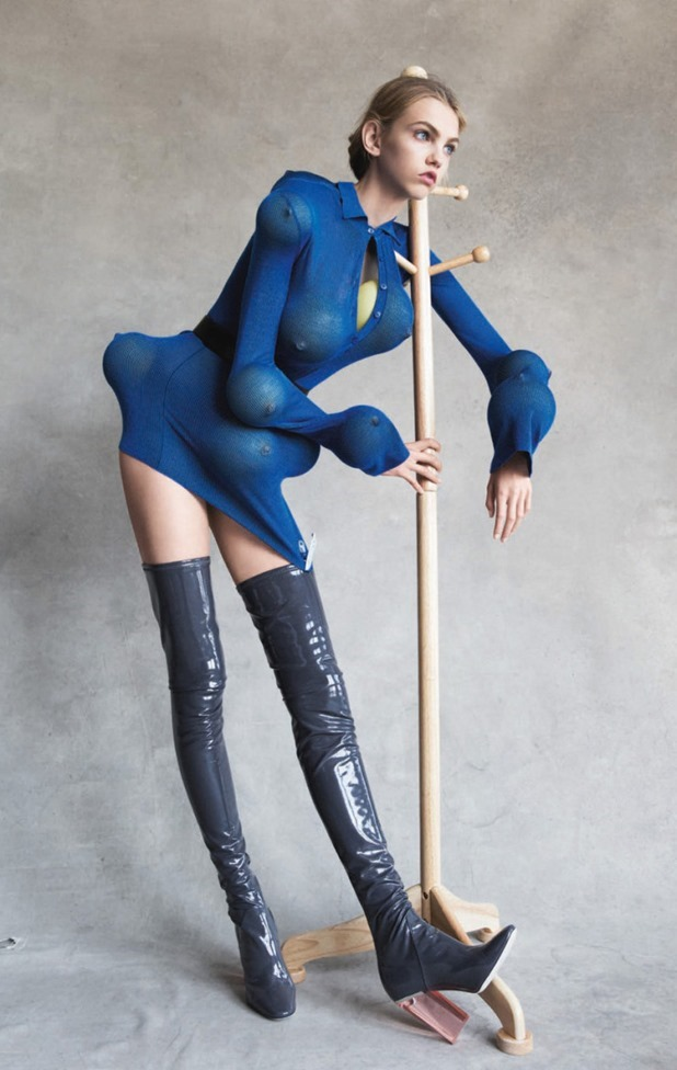 GARAGE MAGAZINE Shape Shifters by Patrick Demarchelier. Robbie Spencer, Fall 2015, www.imageamplified.com, Image Amplified (10)
