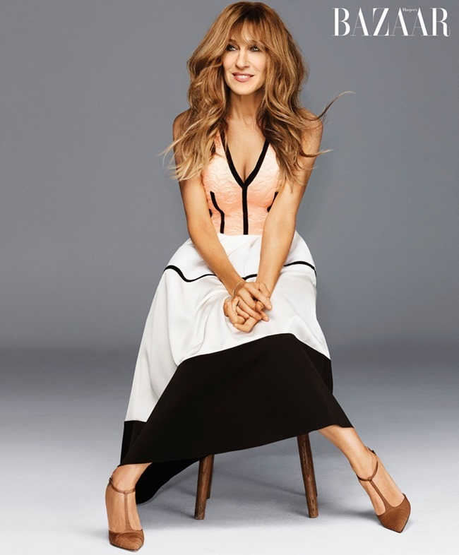 HARPER'S BAZAAR MAGAZINE Sarah Jessica Parker by Alexi Lubomirski, October 2015, www.imageamplified.com, Image Amplified (3)