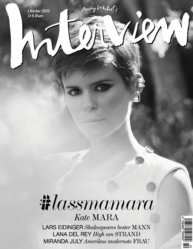 INTERVIEW GERMANY Kate Mara by Mason Poole. Sean Knight, October 2015, www.imageamplified.com, Image Amplified