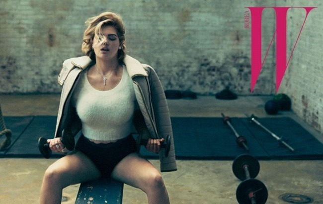 W KOREA Kate Upton by Norman Jean Roy. October 2015, www.imageamplified.comm, Image Amplified (6)