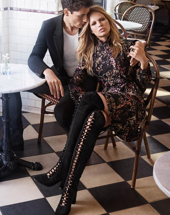 CAMPAIGN Nicolas Ripoll & Anna Ewers for H&M Fall 2015 by Josh Olins. David Hagglund, www.imageamplified.com, Image Amplified (3)
