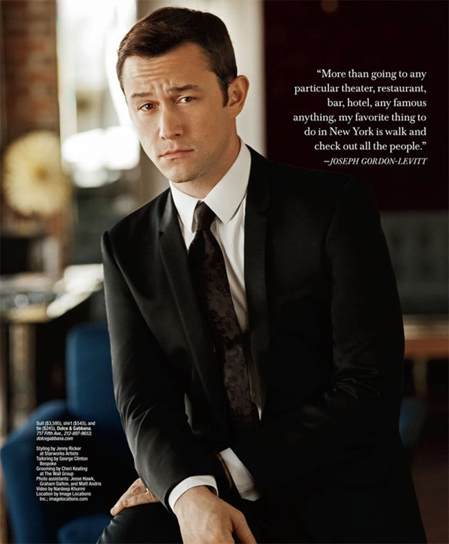 GOTHAM MAGAZINE Joseph Gordon-Levitt by Jim Wright. Jenny Ricker, Fall 2015, www.imageamplified.com, Image Amplified (5)