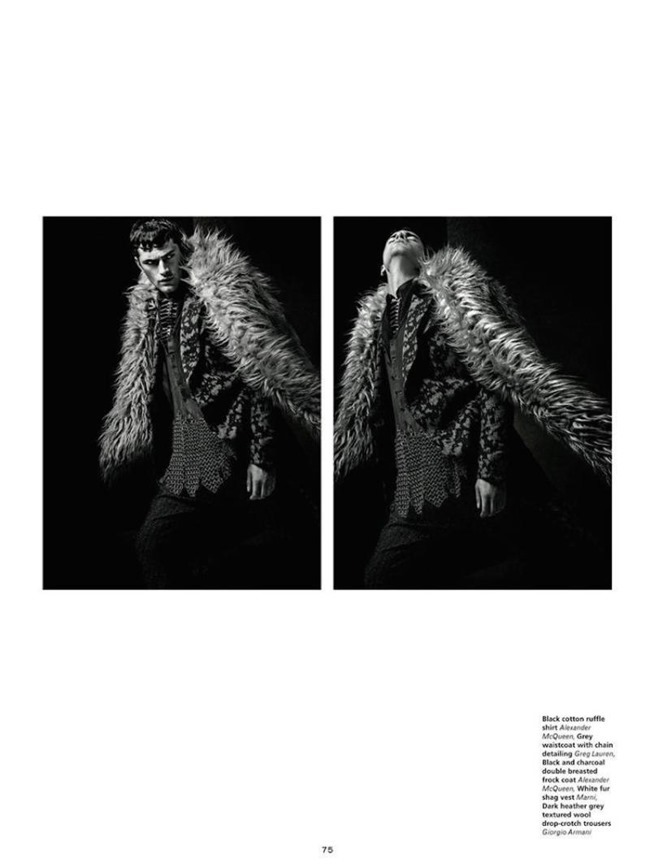 L'OFFICIEL HOMMES Sean O'Pry by Jack Waterlot. Amy Mach, Fall 2015, www.imageamplified.com, Image Amplified (5)