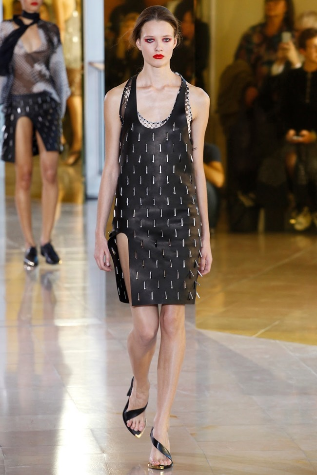 PARIS FASHION WEEK Anthony Vaccarello Spring 2016. www.imageamplified.com, Image Amplified (13)
