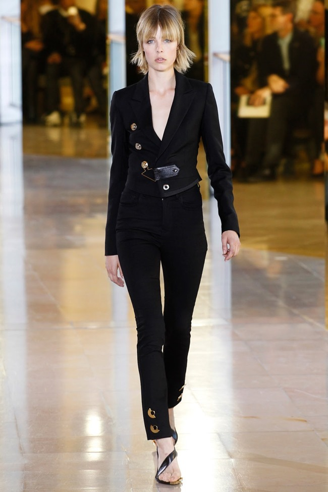 PARIS FASHION WEEK Anthony Vaccarello Spring 2016. www.imageamplified.com, Image Amplified (39)