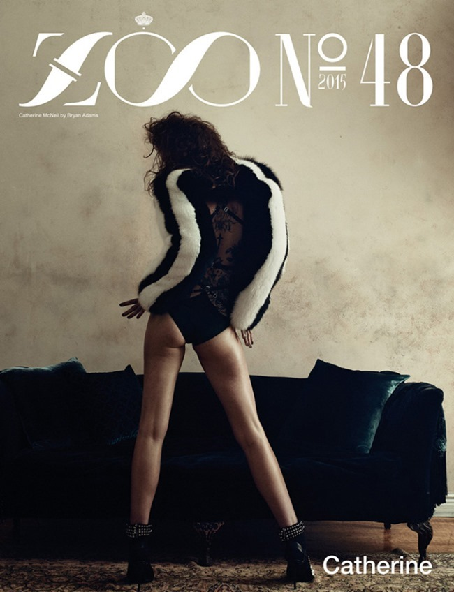 ZOO MAGAZINE Catherine McNeil by Bryan Adams. Joanne Blades, Fall 2015, www.imageamplified.com, Image Amplified (15)