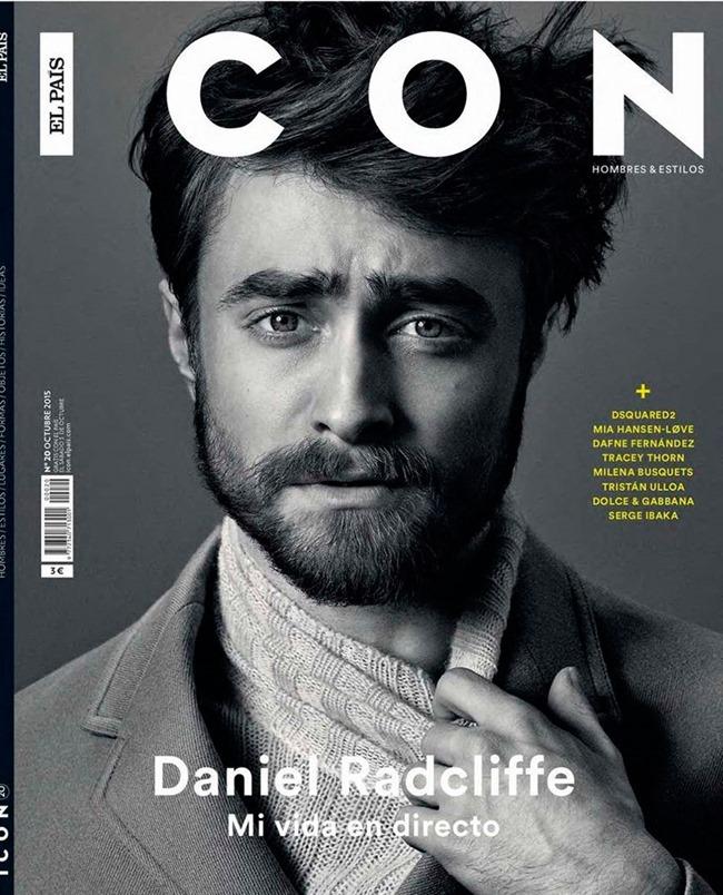 ICON MAGAZINE Daniel Radcliffe by Michael Schwartz. Fall 2015, www.imageamplified.com, Image Amplified (1)