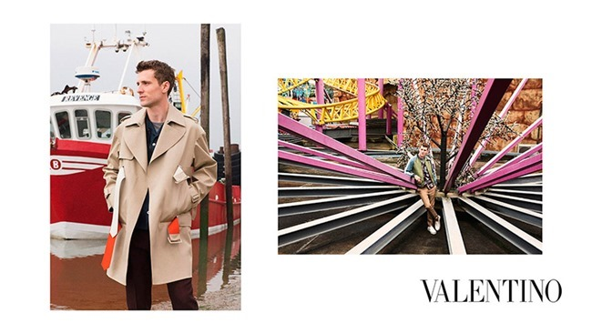 CAMPAIGN George Barnett & Egon Van Praet for Valentino Spring 2016 by David Bailey. Karl Templer, www.imageamplified.com, Image Amplified (4)