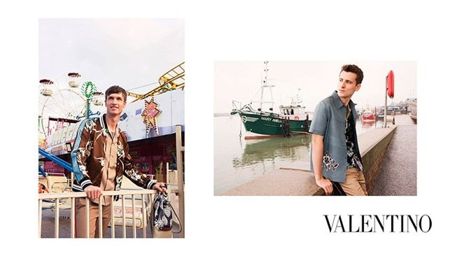 CAMPAIGN George Barnett & Egon Van Praet for Valentino Spring 2016 by David Bailey. Karl Templer, www.imageamplified.com, Image Amplified (5)