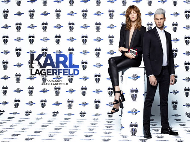 CAMPAIGN Baptiste Giabiconi & Freja Beha Erichsen for Karl Lagerfeld Spring 2016 by Karl Lagerfeld. www.imageamplified.com, image Amplified (2)
