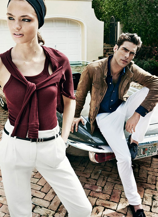 CAMPAIGN Jon Kortajarena & Anna Mila Guyenz for Massimo Dutti Spring 2016 by Mario Testino. www.imageamplified.com, Image Amplified (1)