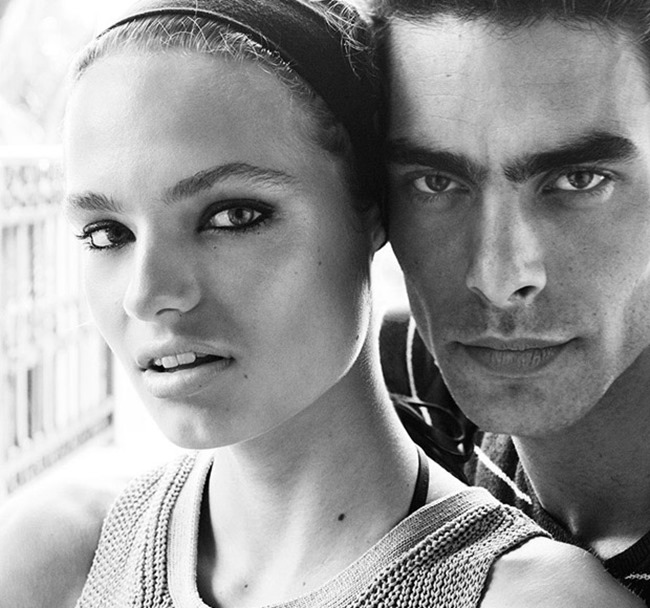 CAMPAIGN Jon Kortajarena & Anna Mila Guyenz for Massimo Dutti Spring 2016 by Mario Testino. www.imageamplified.com, Image Amplified (8)