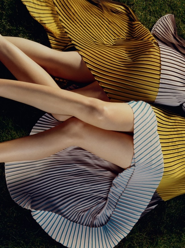 CAMPAIGN Mariacarla Boscono & Natalia Vodianova for Stella McCartney Spring 2016 by Harley Weir. www.imageamplified.com, Image Amplified (4)
