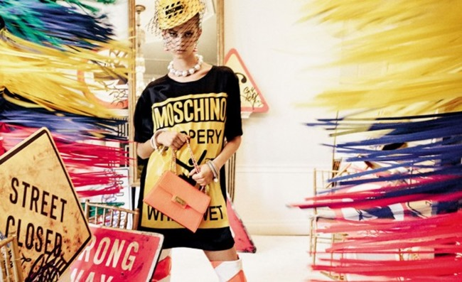 CAMPAIGN Moschino Spring 2016 by Steven Meisel. Carlyne Cerf De Dudzeele, www.imageamplified.com, Image Amplified (4)