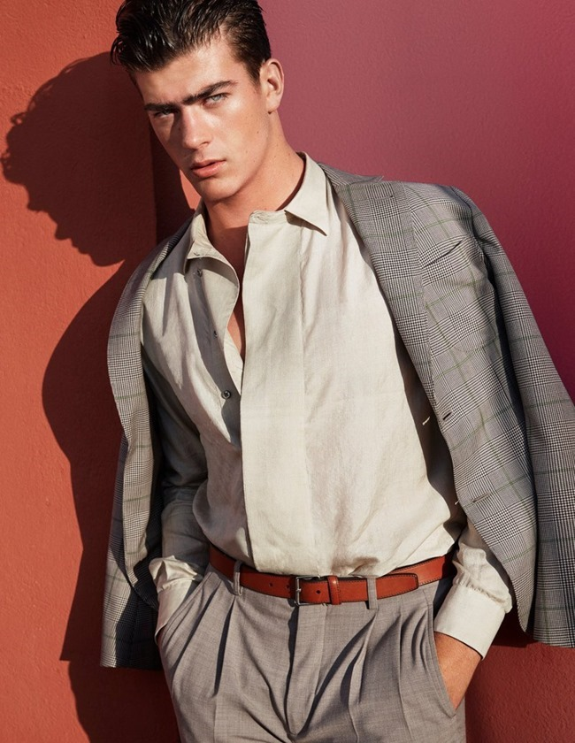 CAMPAIGN Zandre du Plessis for Giorgio Armani Spring 2016 by Solve Sundsbo. Beat Bolliger, www.imageamplified.com, Image Amplified (6)