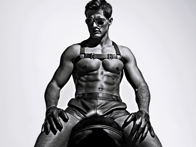 CAMPAIGN Diego Miguel for Charlie by Matthew Zink Leather Collection 2016. www.imageamplified.com, Image Amplified (1)