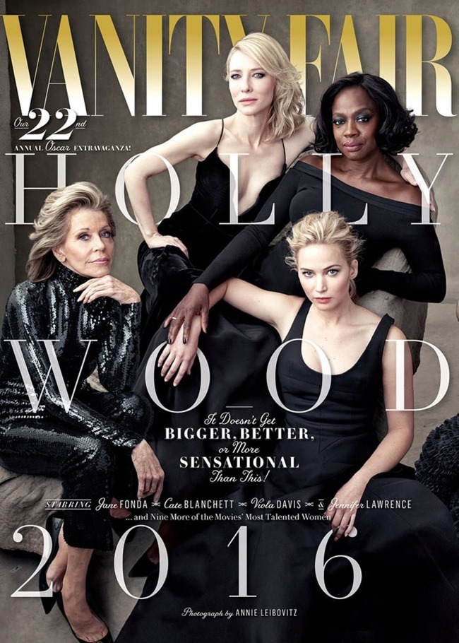 VANITY FAIR Hollywood Issue by Annie Leibovitz. Jessica Diehl, Spring 2016, www.imageamplified.com, Image Amplified (7)