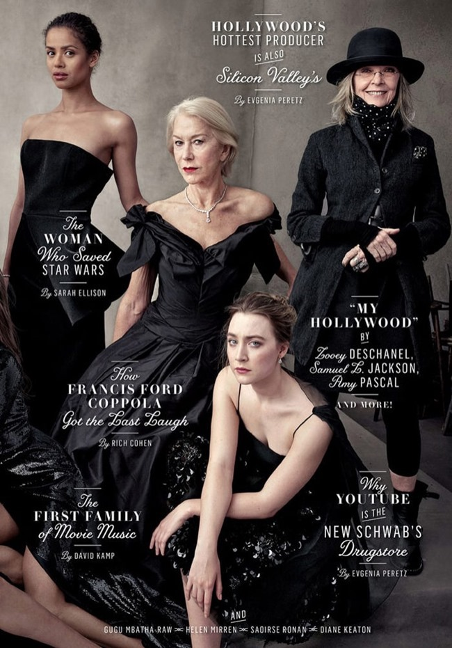 VANITY FAIR Hollywood Issue by Annie Leibovitz. Jessica Diehl, Spring 2016, www.imageamplified.com, Image Amplified (5)