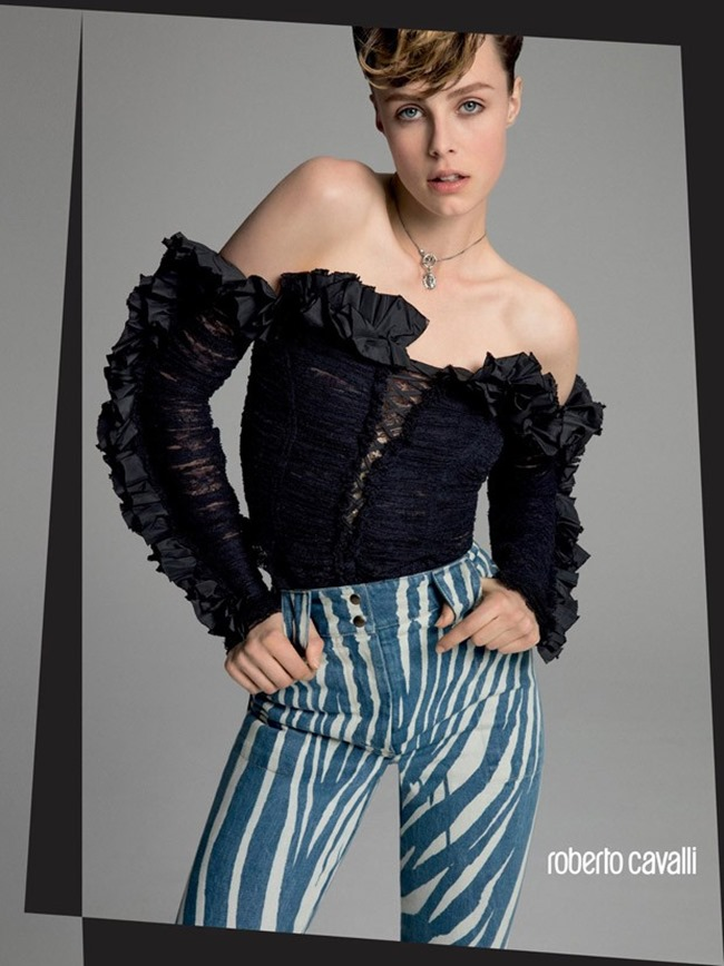 CAMPAIGN Edie Campbell for Roberto Cavalli Spring 2016 by Inez & Vinoodh. www.imageamplified.com, Image Amplified (6)