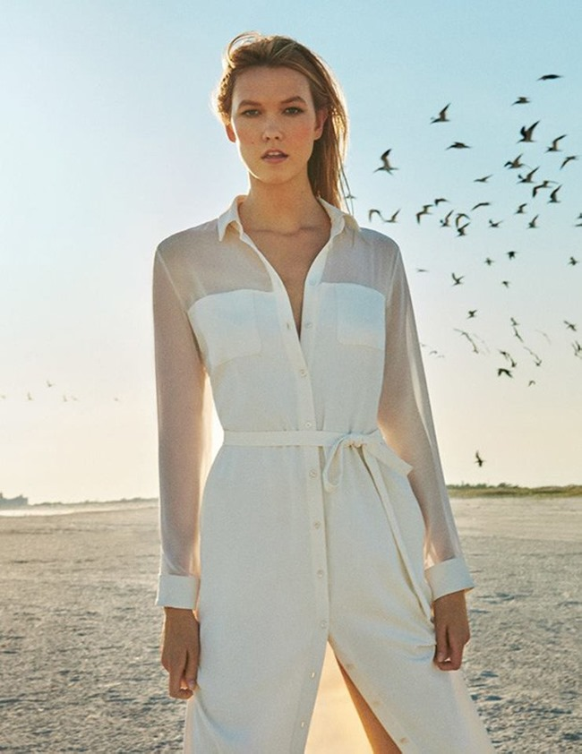 CAMPAIGN Karlie Kloss for Marella Spring 2016 by Ryan McGinley. www.imageamplified.com, Image amplified (1)