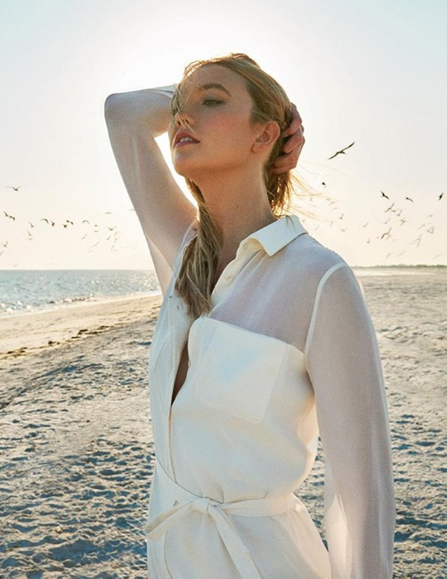 CAMPAIGN Karlie Kloss for Marella Spring 2016 by Ryan McGinley. www.imageamplified.com, Image amplified (3)