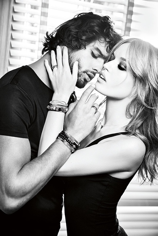 CAMPAIGN Marlon Teixeira & Georgia May Jagger for Thomas Sabo Spring 2016 by Ellen von Unwerth. www.imageamplified.com, image amplified (4)