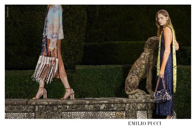 CAMPAIGN Odette Pavolova & Kadri Vahersalu for Emilio Pucci Spring 2016. www.imageamplified.com, Image Amplified (4)