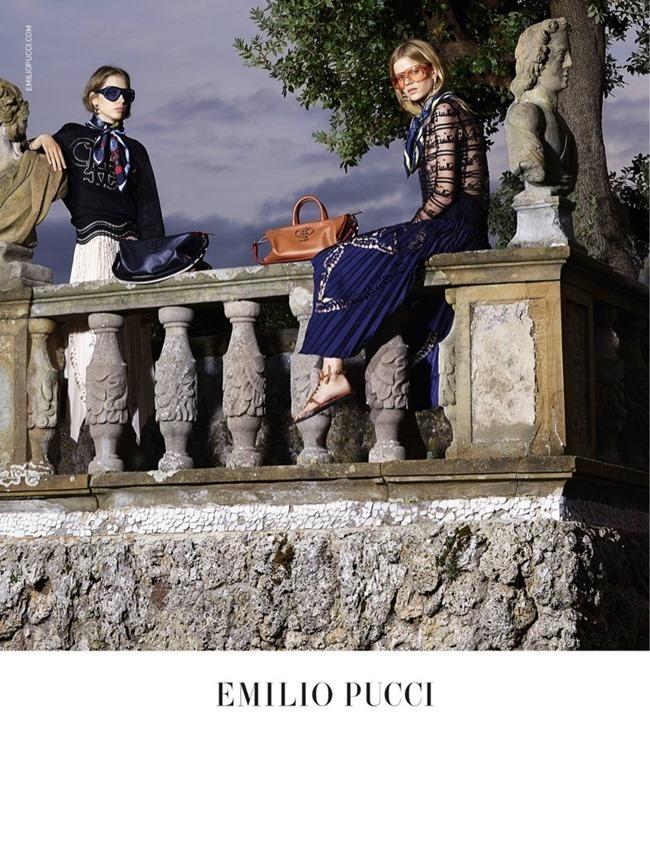 CAMPAIGN Odette Pavolova & Kadri Vahersalu for Emilio Pucci Spring 2016. www.imageamplified.com, Image Amplified (7)