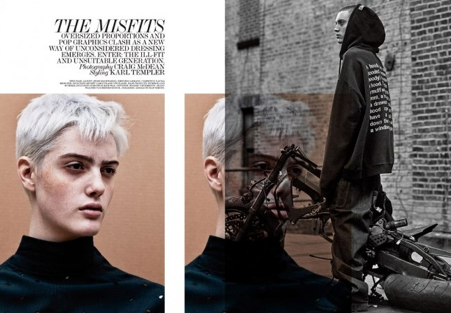 INTERVIEW MAGAZINE The misfits by Craig McDean. Karl Templer, February 2016, www.imageamplified.com, image Amplified (1)