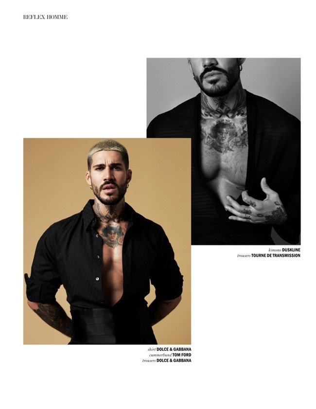 REFLEX HOMME MAGAZINE Fabian Domenech by Joseph Sinclair. Callum Vincent, February 2016, www.imageamplified.com, image amplified (7)