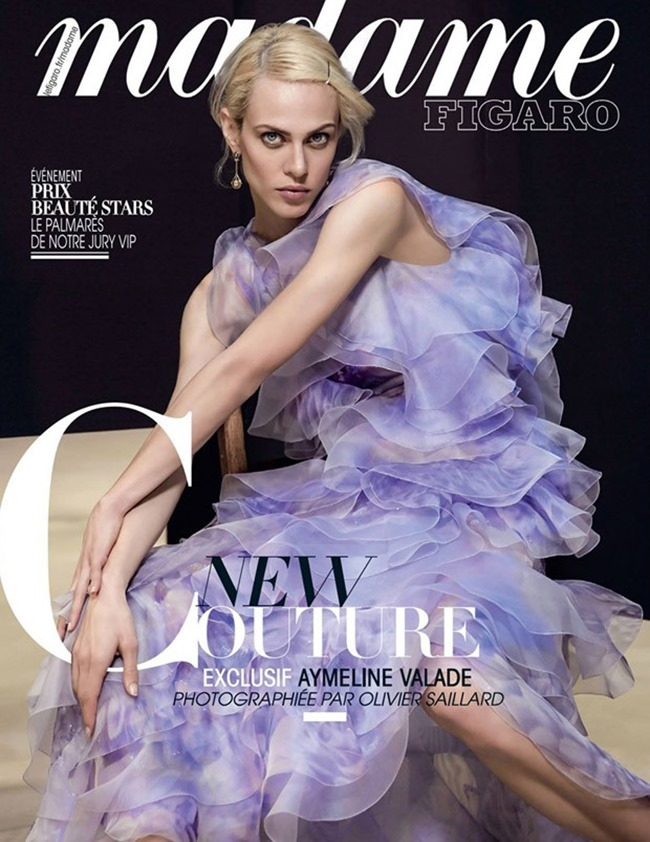 MADAME FIGARO FRANCE Aymeline Valade by Olivier Saillard. Agnes Poulle, Spring 2016, www.imageamplified.com, Image Amplified (2)